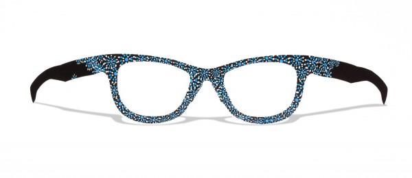 PUSTEBLUME - stylische flowerpower upcycling Pappbrille