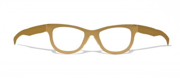 CLASSIC GOLD - stylische goldene upcycling Pappbrille